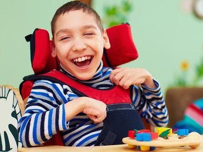 Ergotherapie Veronika Mauracher - Kinder mit Behinderung